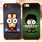 Marvel Comics The Avengers Iron man The Hulk Hard Case Cover For Iphone 4 4S 4th