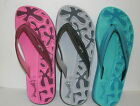 LADIES JAYWALKER 'LUCY' COMFY FLIP FLOPS SIZES 3-4, 5-6, 7-8 PINK, TURQ, GREY