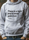There is a Light Hoody Jumper The Smiths Morrisey Marr Lyric indie Hoodie L0304