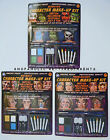 HALLOWEEN – MAKEUP KIT – 15-PIECE -MONSTER – ANIMALS or PEARLESCENT -CHOICE -NIP