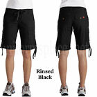 "Women's shorts FR323 Dickies 12"" Drawstring Cargo Short pant drawstrings waist"