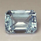 Masterpiece Collection: Octagon Faceted AAA Natural Sky Blue Topaz (6x4-20x15mm)
