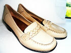 NEW K BY CLARKS HENRIETTA BEIGE LEATHER WIDE FIT SHOES UK SIZE 4to7