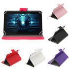 "Multi-Color Wallet Folio Smart Case Stand Cover for 7"" Tablet"