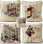 """Lovely Quality Tapestry Cushion Covers.In Packs Of 2,5 Great Designs 18""""x 18"""""""