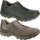 Caterpillar Shoes Mens CAT Movement Oxford Shoes Brown, Black Leather Lace Up