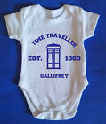 Doctor Who Fifty Years 50th Anniversary Baby Grow Vest Time Space 1962 J0489