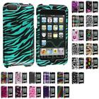 For iPod Touch 3rd 2nd Gen 3G 2G Color Design Hard Snap-On Case Cover Accessory