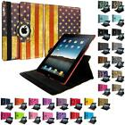 360 Color Magnetic Case Cover Stand Accessory for iPad 4th 3rd 2nd Gen 4/3/2