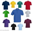 Fruit of the Loom Classic 65/35 Polo Shirt S M L XL XXL XXXL 15 Colours