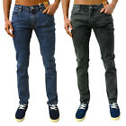 Mens Designer Bellfield Jeans Skinny Slim Stretch Tapered Fit Retro Indie Denim