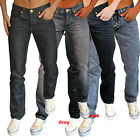 New Mens Designer Zico Jeans Skinny Slim Fit Basic Tapered Fit Retro Indie Denim