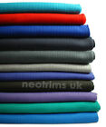 Neotrims Polyester Rib Knit Jersey Stretch Sports Feel Fabric, Waistband Cuffs