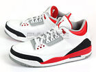 Nike Air Jordan 3 III Retro White/Fire Red-Silver-Black AJ Basketball 136064-120