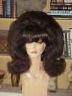 SIN CITY WIGS MID LENGTH FLIP FLIPPED STRAIGHT THICK VOLUME 50S RETRO GLAM BANGS