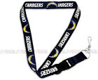 SAN DIEGO CHARGERS NFL BREAKAWAY LANYARD KEYCHAIN TICKET HOLDER NAVY