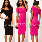 Formal Sexy Stylish Women Cocktail Party Summer New Business Bodycon Dress Y378