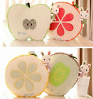 Plush toy stuffed Pillow Apple lemon grapefruit kiwi fruit Christmas gift 1pc