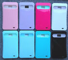 Samsung Galaxy S2 SGH-S959G Phone Cover GLOW IN THE DARK Case + SCREEN PROTECTOR