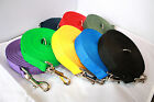 50ft LONG DOG & HORSE TRAINING TRACKING LEAD IN VARIOUS COLOURS...SIZE LARGE