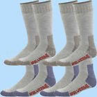 Wolverine men's boot socks HUNTER WOOL Over the Calf 2 pairs Brown Navy Large
