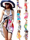 Women Lady Girl Chiffon Sexy Pareo Dress Sarong Wrap Beach Cover Up Bikini Scarf