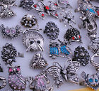 Mix Animals Design Anti-silver Vintage W/rhineston Ring Party Gala Jewelry JR049