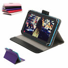 "4 Colors 9 Inch Smart Stand Case Cover Folio PU Leather For 9"" Tablet Pad Device"