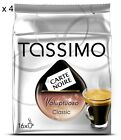 TASSIMO 4 PACKS of Carte Noire T-Discs Different Flavors of Your Choice
