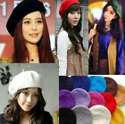 Fashion Artist Style Womens Beanie Hat Warm Wool Beret Winter Ski Cap Hat