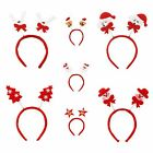 2x Unisex Xmas Mixed Style Christmas Festive Headgear Hat /Headband Decorations