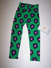 NWT GYMBOREE BRIGHTEST IN CLASS LEGGINGS GREEN/ BLUE PINK FLOWERS