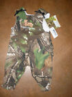 "NEW ""DADDY'S LITTLE DEER"" REALTREE APG HD OR HARDWOODS GREEN LONG BUBBLE JUMPER"