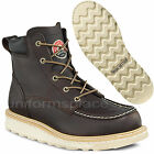 Red Wing Irish Setter Work Boots ASHBY 6 Safety  Soft Toe 83606 83605 Moc toe