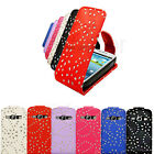 NEW PREMIUM SPARKLING MOBILE PHONE FLIP CASE COVER FOR SAMSUNG GALAXY S3 i9300
