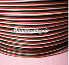 Servo Extension Cable Cord 3 Pin length for you pick