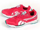 Puma Faas 350 S Wn's Pink-Blue Grass-White 2013 Running Lightweight 186141 12