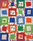 "YO GABBA GABBA ROCKS Quilt Kit Kids 40"" X 50"" Cotton Red Royal Green Orange Blue"