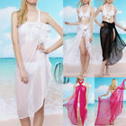 Sexy Chiffion Bikini Cover Beach Swim Sarong Oversize Formal Scarf/Shawl sw007