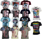 Mens Soul Star Designer Printed T Shirt -  5 Style-12 Colours