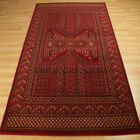 Wool Classic Rugs In Red - 635R A Traditional Wool Pile Wilton Rug Large Sizes