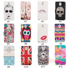 Lovely Window PU Leather Flip Stand Case Cover For Samsung Galaxy Note 3 N9000