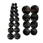 1 x Ebony Wood Concave Double Flared Ear Plug Organic Saddle Style Tunnel Lobe