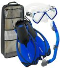 Head by Mares Junior Mask Fin Snorkel Set, with Snorkeling Backpack