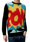 Pop Art Pow Comic Book JUMPER NEW indie retro nerd marvel spider man Andy Warhol