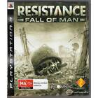 PLAYSTATION 3 RESISTANCE FALL OF MAN PS3 PAL RARE FIRST AUSTRALIAN ISSUE [LN]