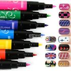 New Nail Art Pen Painting Design Tool 12 colors Drawing Gel Made Easy