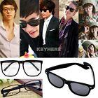 Fashion Retro Unisex Mens Womens Clear Lens Geek Glasses Eyewear 3Types K0E1