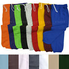 Unisex Mens Womens Sweat Pants Fleece Workout Gym Pant Elastic Waist S-Petite