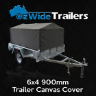6X4 900MM TRAILER CAGE CANVAS COVER